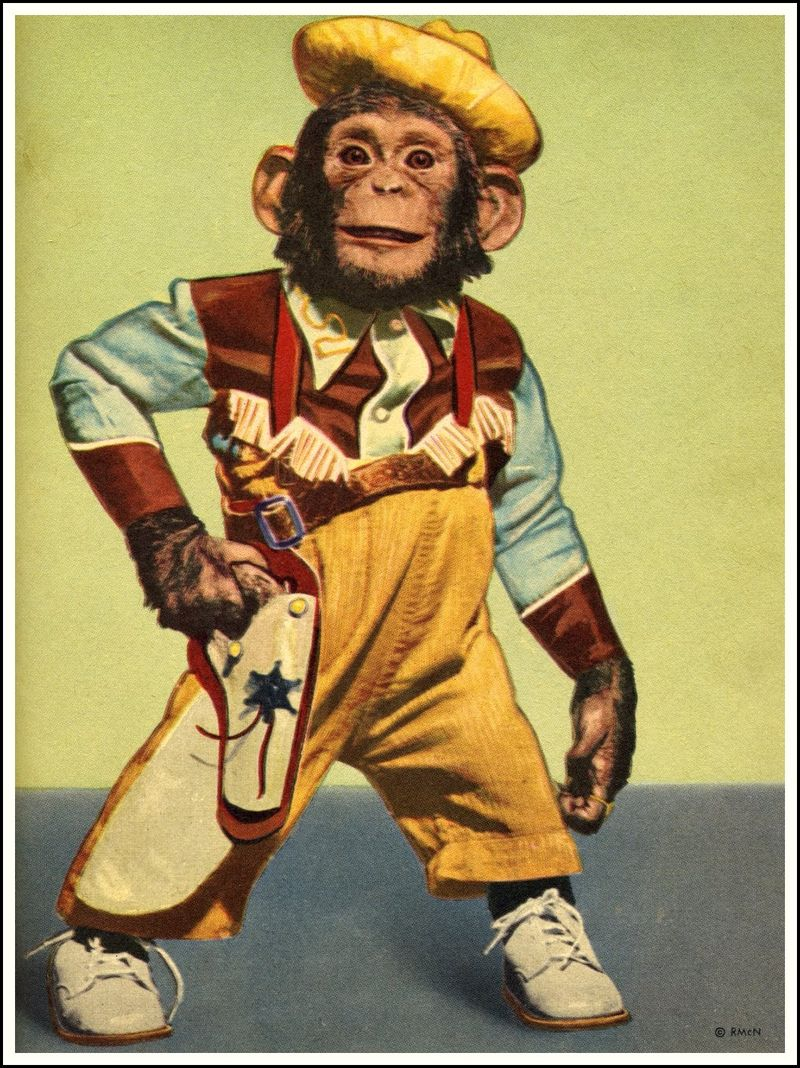 Zippy the chimp_1953