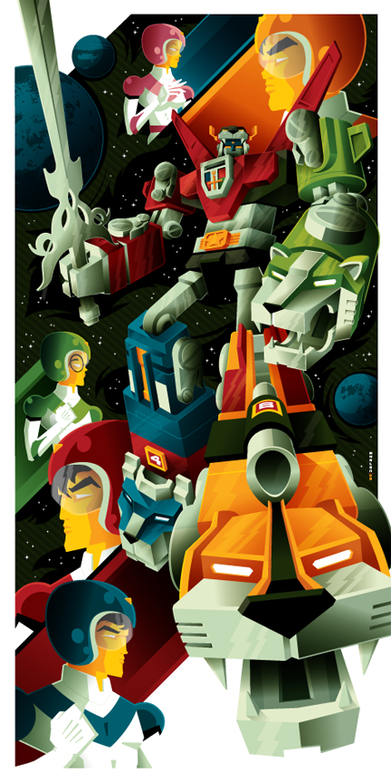 Voltron by tom whalen