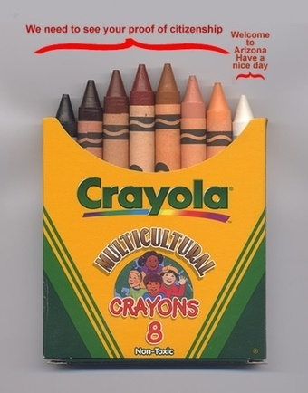 Arizona law in crayons via myconfinedspace