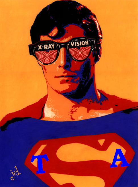 Superman xray edit p by doodlelyle deviantART