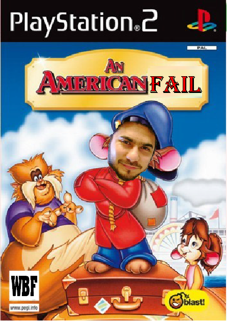 Faisal is fievel from wrongbut funny dot com