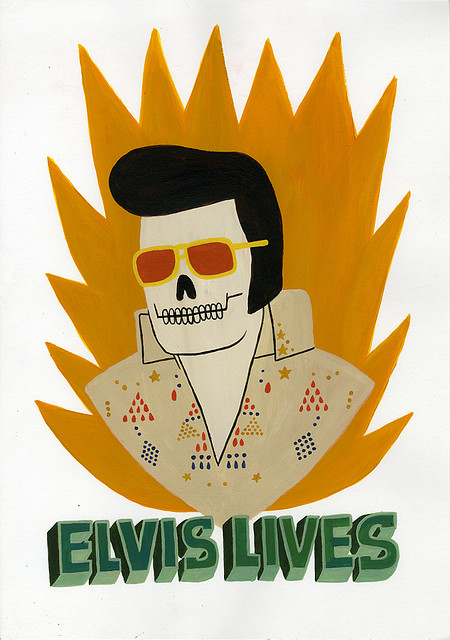Halloween elvis lives by jack teagle flickr