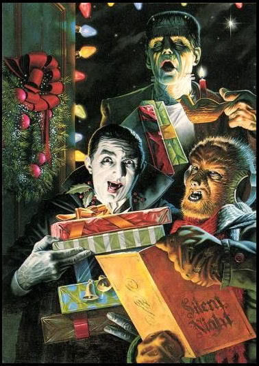 Scary xmas p and to all a good fright