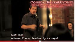 YouTube - Mark Christopher Lawrence Hosts COMEDY NIGHT @ CYGNET Starring Doug Starks - Google Chrome 1232010 125738 PM