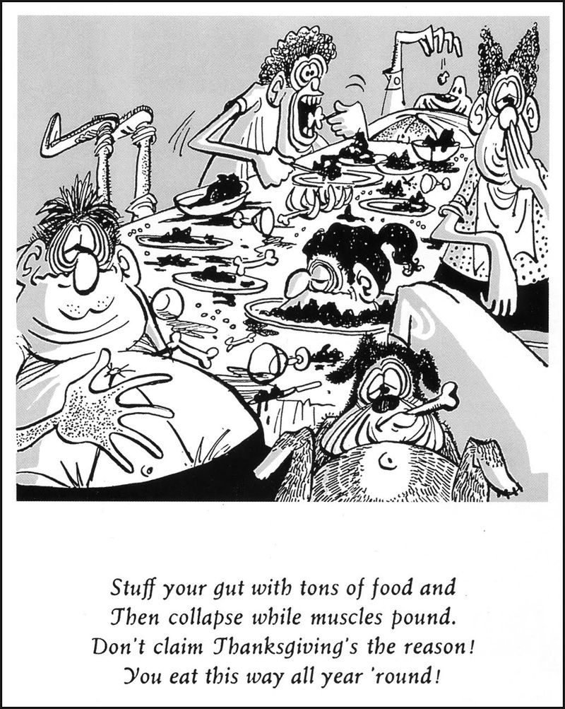 Thanksgiving by don martin mad 1960 jan
