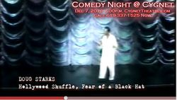 YouTube - Mark Christopher Lawrence Hosts COMEDY NIGHT @ CYGNET Starring Doug Starks - Google Chrome 1232010 125714 PM