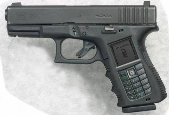 2gun phone via 9gag