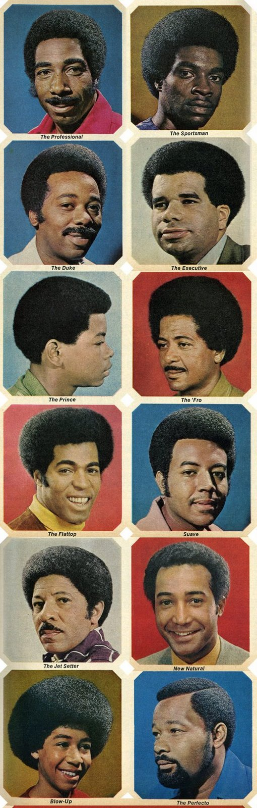 Afros via retrospace