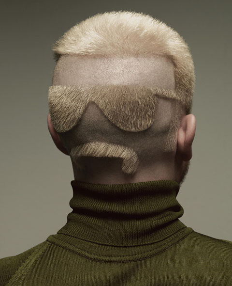 Moustache glasses back of head via yeatsofhell