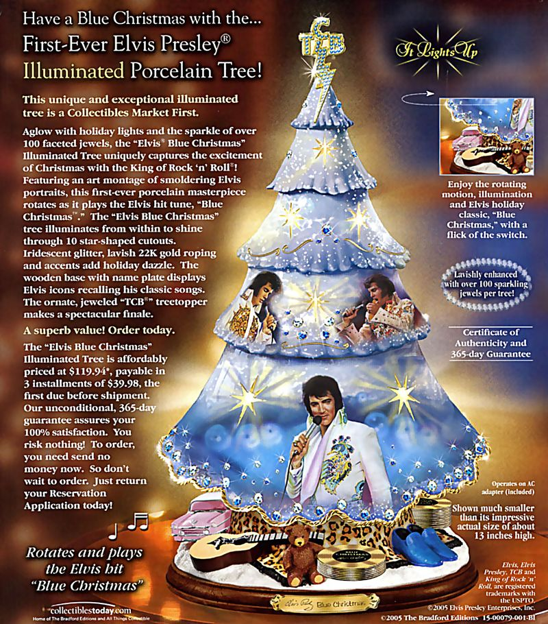 Xmas elvis tree via x-ray delta one flickr