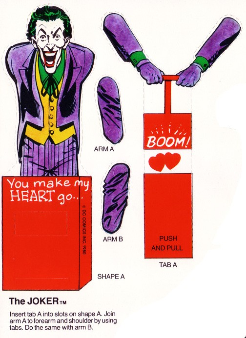 Valentine joker via comicsalliance
