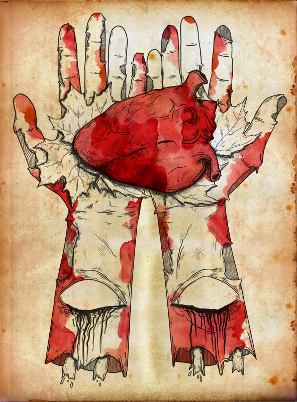 Valentine heart and hands p by scott gunner