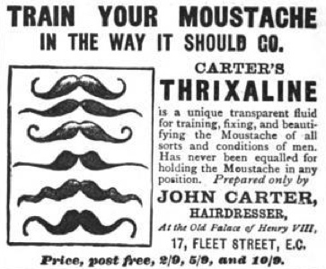 Moustache training via zoomar