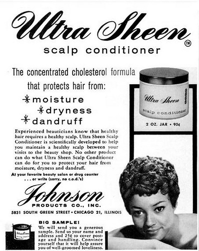 Ultra sheen ad via flickr