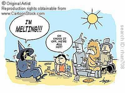 Heatwave oz via cartoonstock