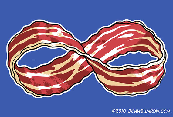 Bacon Infinite-bacon by john sumrow