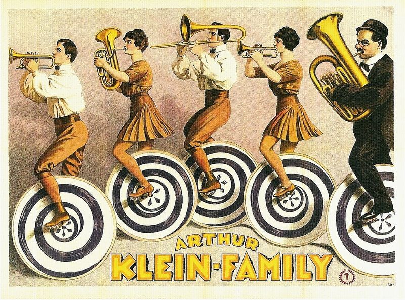 Band arthur klein family 1923 via marinni livejournal