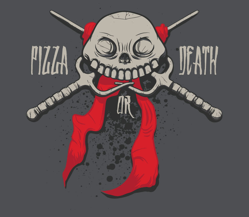 TMNT pizza or death via riptapparel