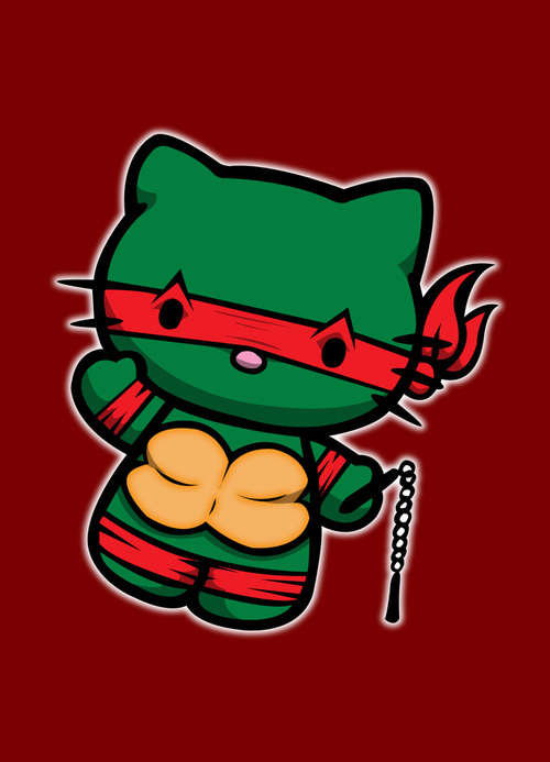 TMNT kitty by andrew mark hunter