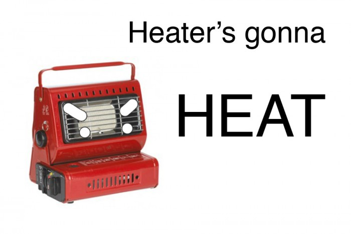 Heaters gonnna heat via myconfinedspace