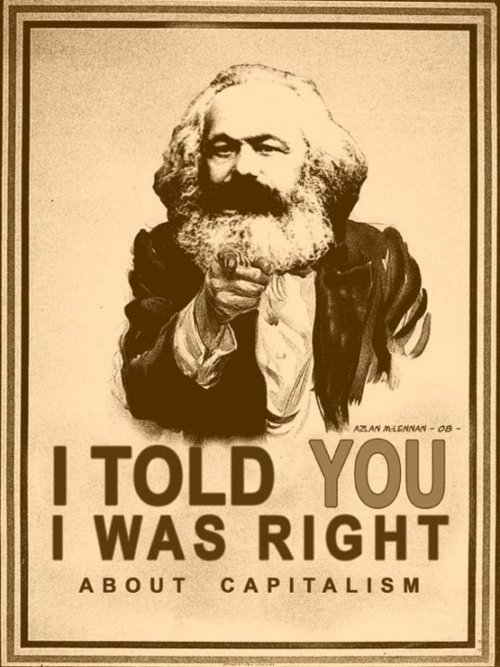 Capitalism marx via calvinscanadiancaveofcool