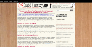 David  Kamatoy Blog Typewriter Theme